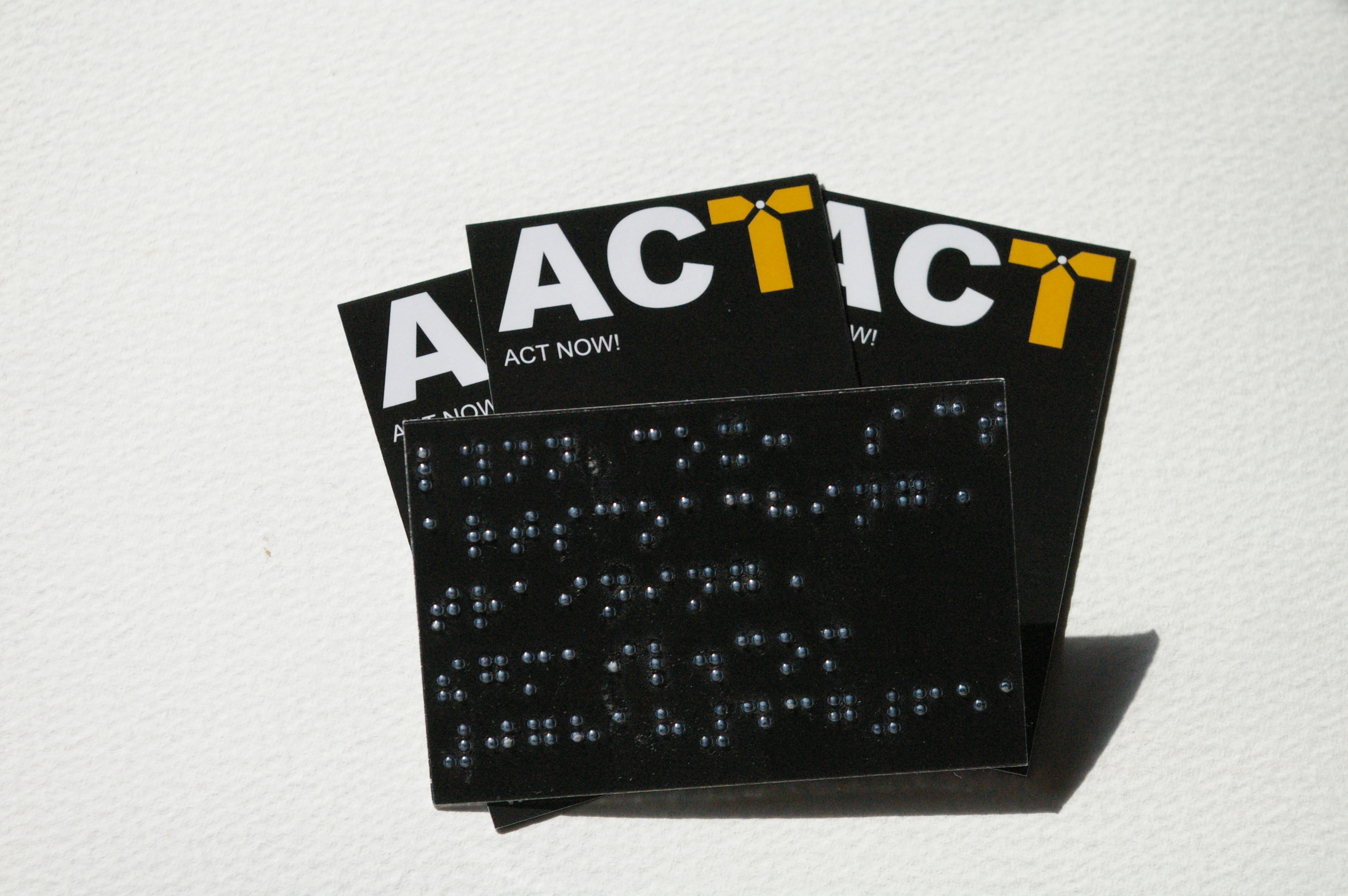 Braille Business Card Service: Send & l\'ll Attach – Arts Coaching ...