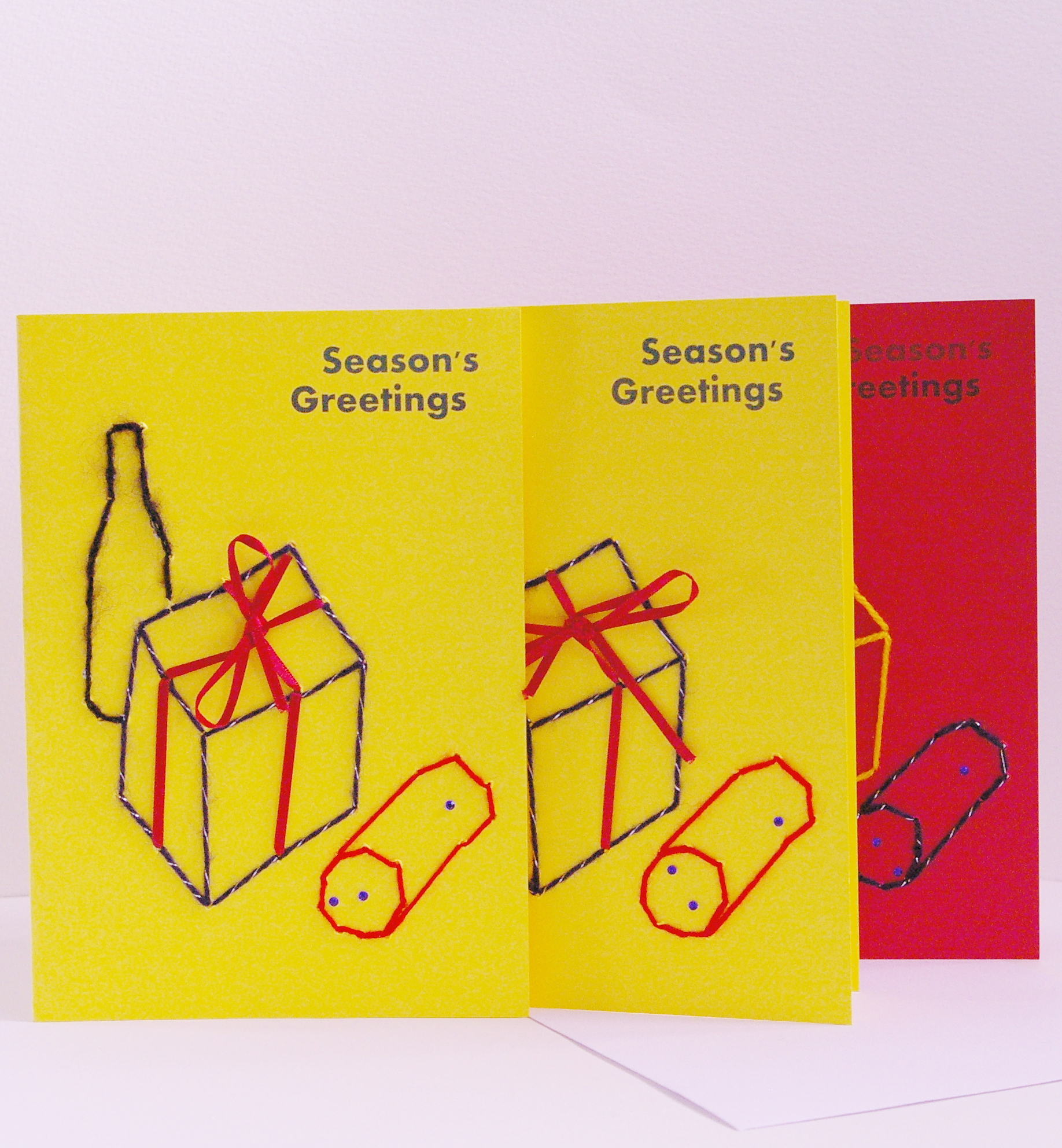 Seasons Greetings Presents Galore Greetings Card Arts Coaching
